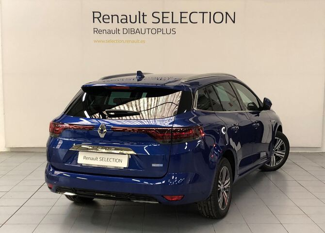 Outside Mégane Sport Tourer Híbrido Enchufable  Azul Rayo