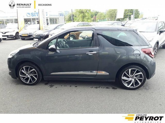 DS3 So Chic GRIS FONCE