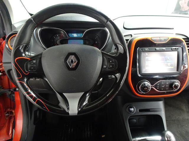 Inside Captur Diesel  Naranja Atakama