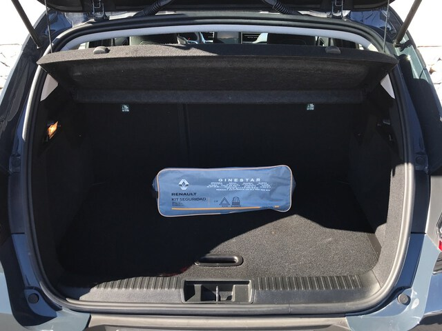 Inside Captur Diesel  Azul Volga