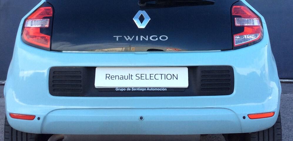 Outside Twingo  Azul