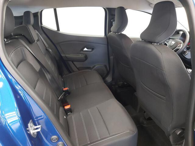 Inside Sandero Gasolina/Gas  Azul Rayo