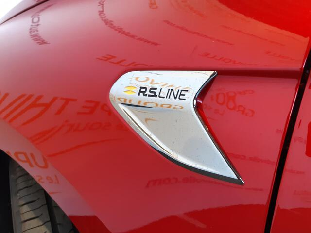 CLIO RS Line ROUGE FONCE