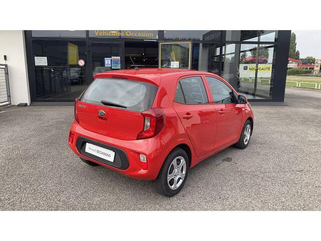 PICANTO Active ROUGE FONCE