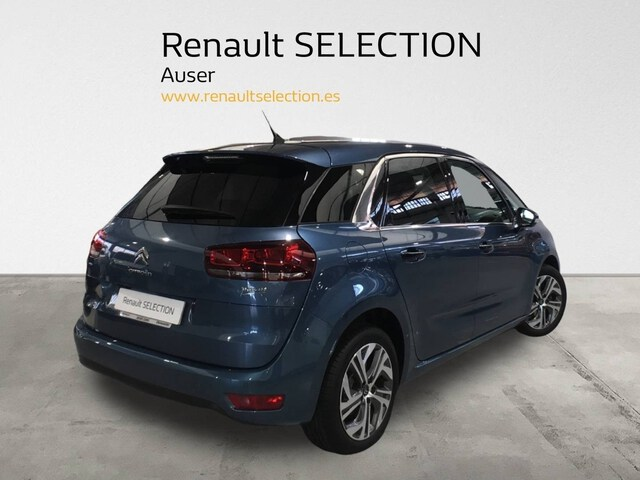 Outside C4 Picasso Diesel  Azul Kyanos metaliza