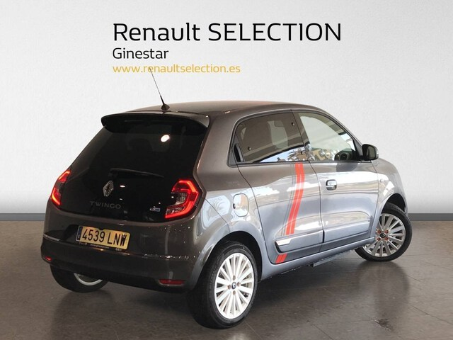 Outside Twingo Electric  Gris Cosmos