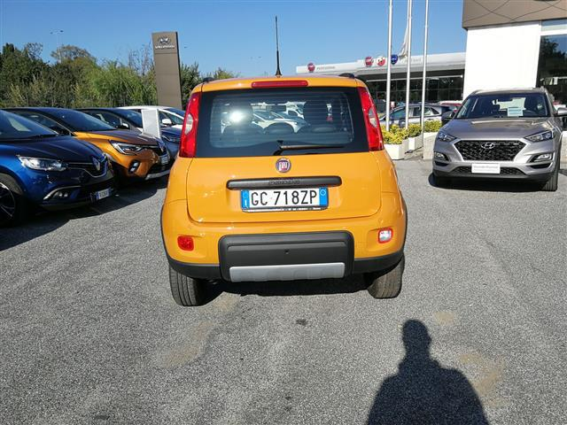 Esterni Panda 4x4 Pastello Arancione