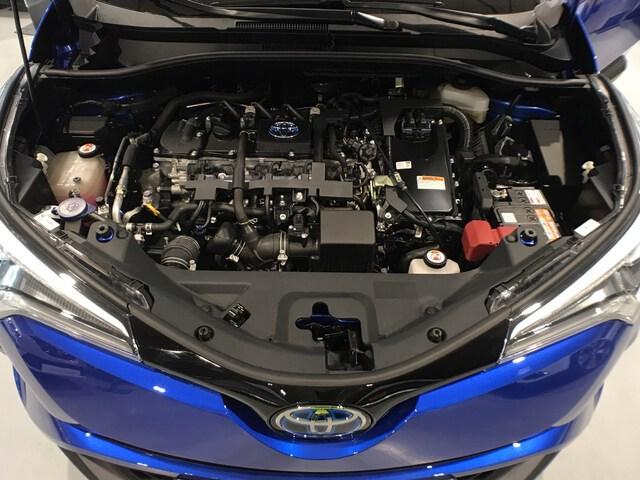 Inside C-HR Híbrido  Azul Nébula