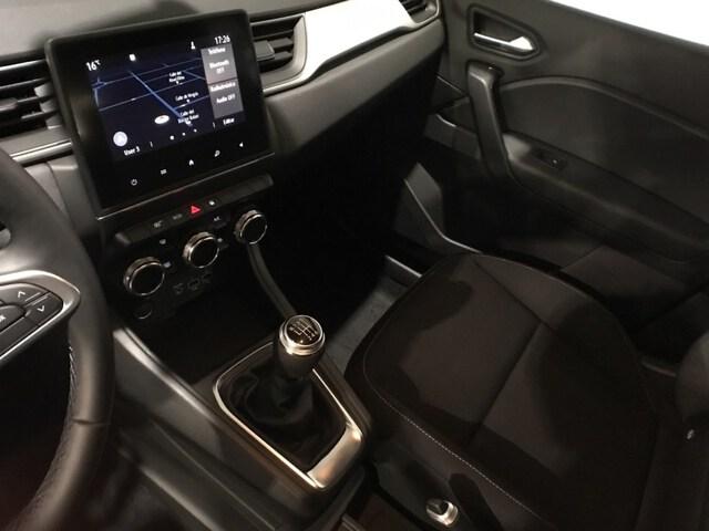 Inside Captur Diesel  Blanco Albatros