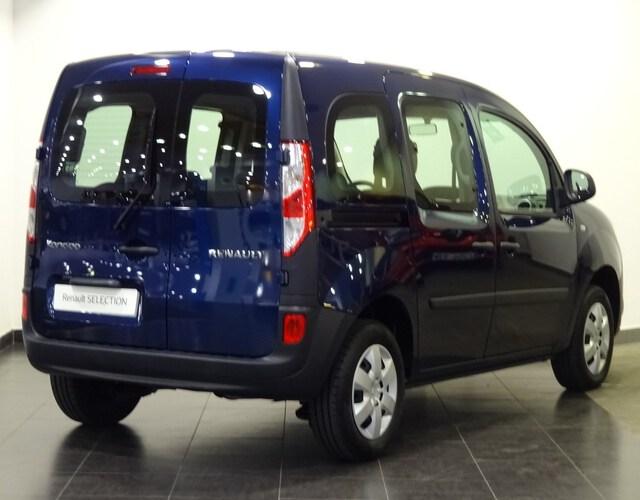 Inside Kangoo Combi Diesel  Azul Estrella