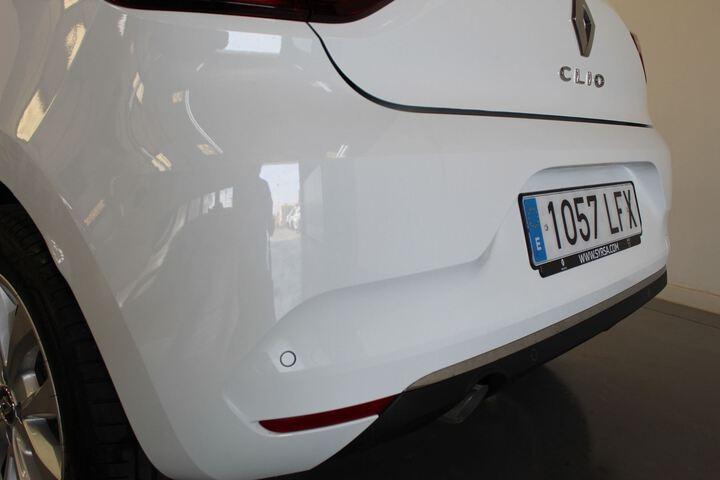 Outside Clio Diesel  Blanco