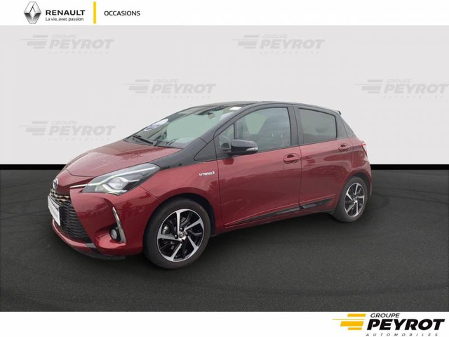 YARIS Collection ROUGE FONCE