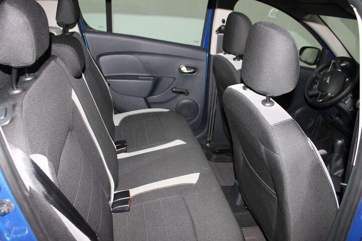 Inside Sandero Diesel  AZUL