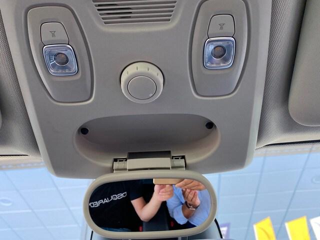 Inside Scénic Diesel  Azul celeste   techo