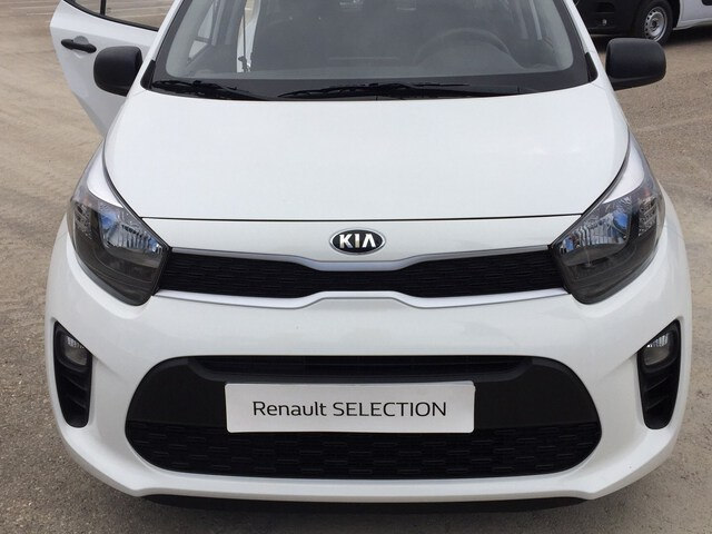 Outside Picanto  Clear White