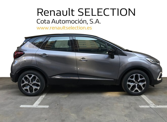 Outside Captur  Gris Casiopea