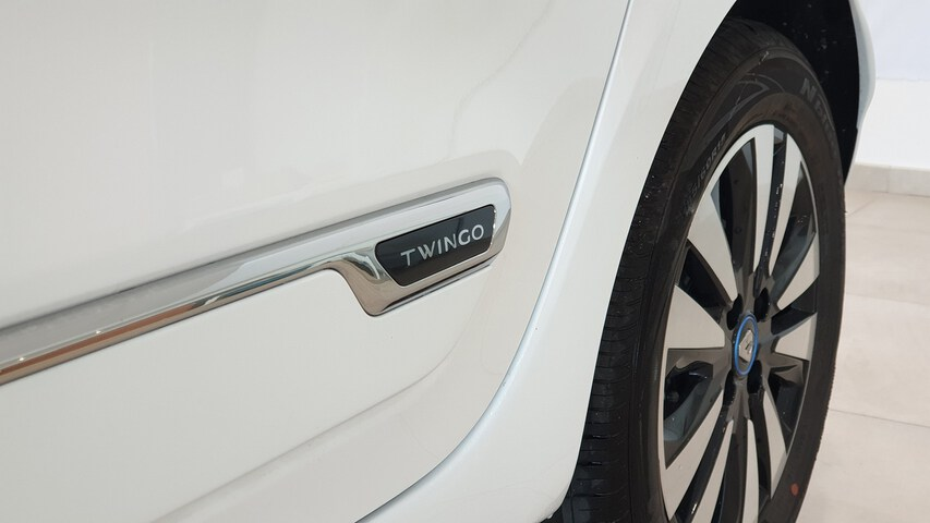 Outside TWINGO Electric  Blanco Cristal