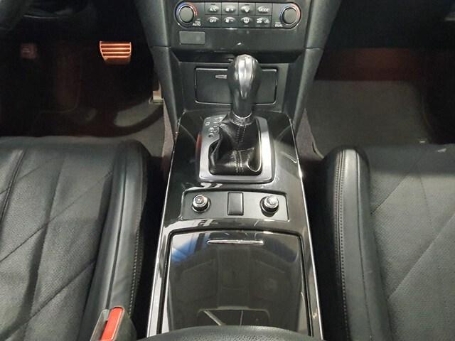 Inside QX70 Diesel  Black Obsidian