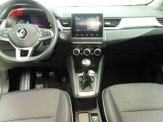 Inside Captur  BLANCO albatros tech