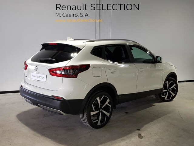 Outside Qashqai Diesel  Blanco Perlado