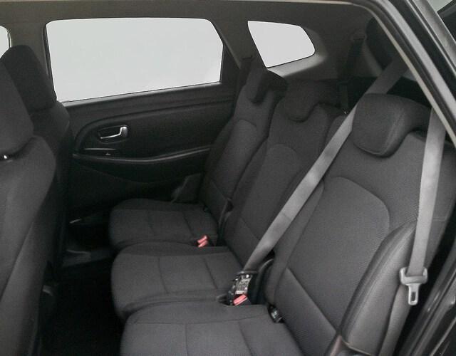 Inside Carens Diesel  Cherry Black