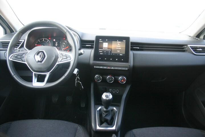 Inside Clio Diesel  Blanco Glaciar