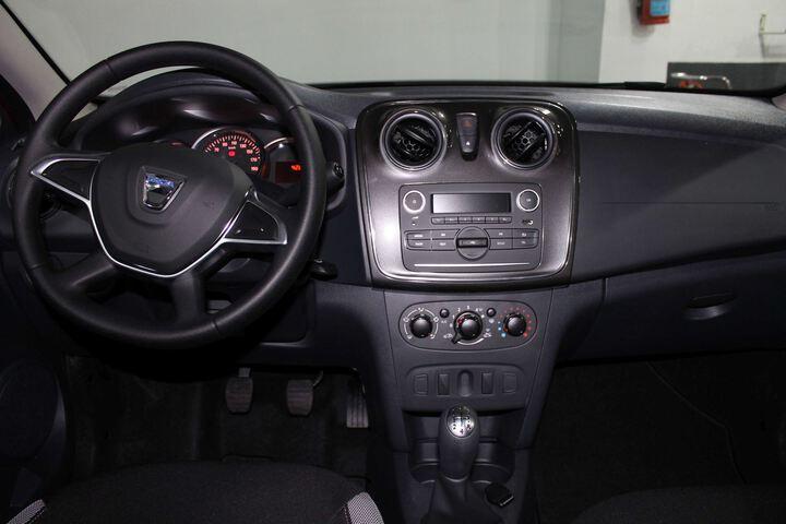 Inside Sandero Diesel  ROJO