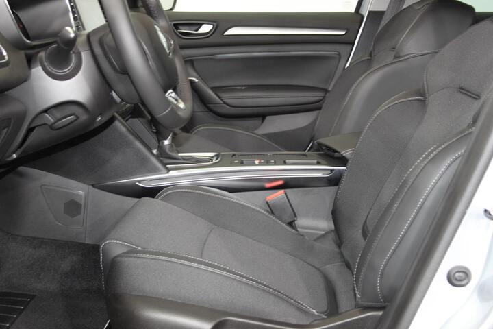 Inside Mégane Híbrido Enchúfable  GRIS PLATA