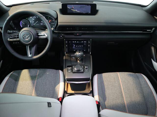 Inside MX-30 2020  Jet Black