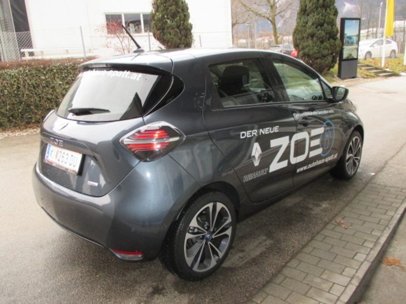 Außenausstattung ZOE (Batteriemiete) Titan-Grau grau