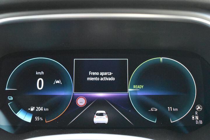 Inside Zoe E-Tech eléctrico  Blanco Quartz