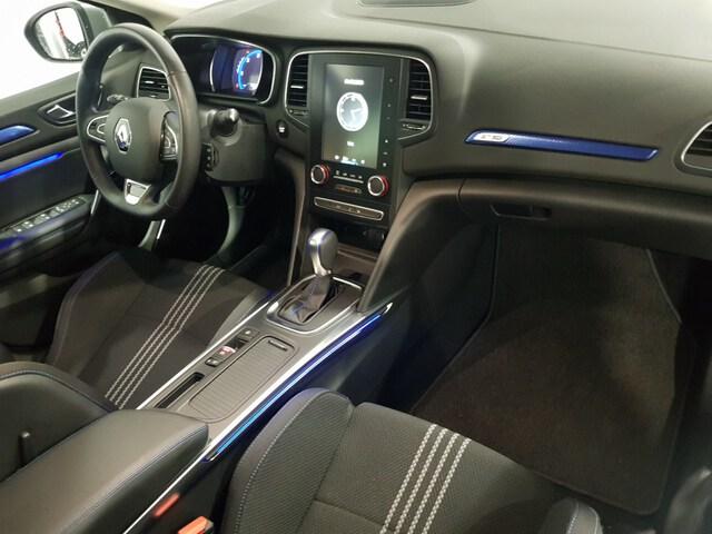 Inside Mégane Sport Tourer Diesel  Azul Rayo