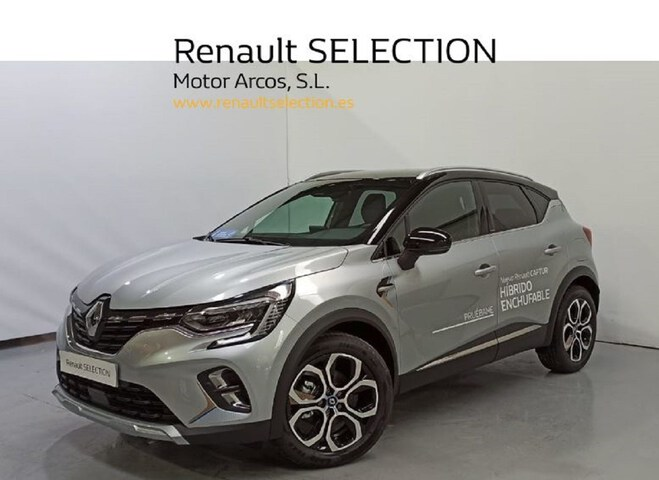 Captur Híbrido Enchufable  Gris Highland con te
