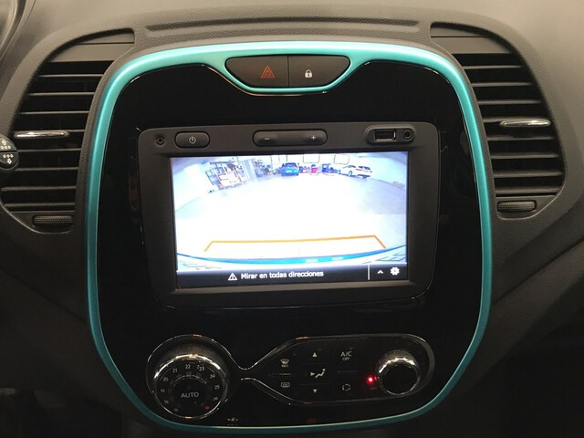 Inside Captur Diesel  Azul Pacífico
