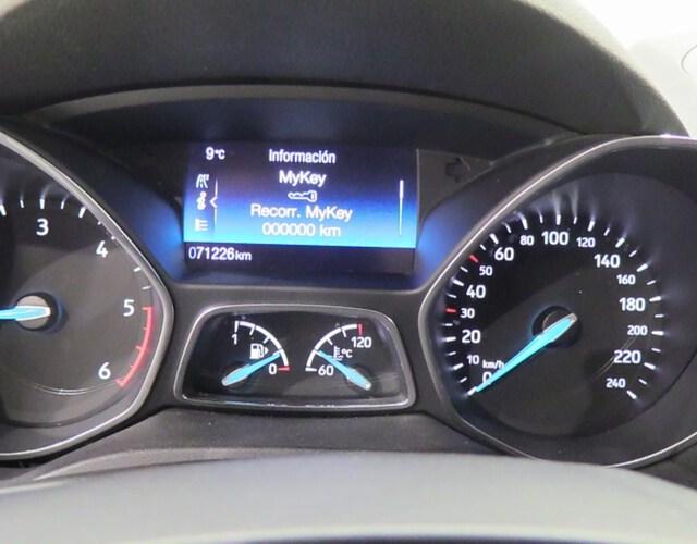 Inside C-Max Diesel  Gris Techno