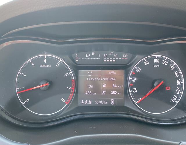 Inside Corsa Gasolina/Gas  BLANCO