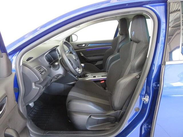 Inside Mégane  Azul Rayo