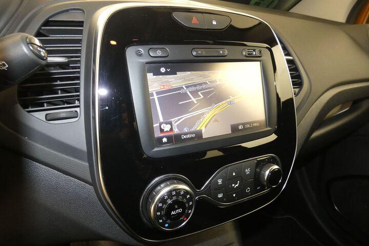 Inside Captur Diesel  Naranja Atakama/Tech