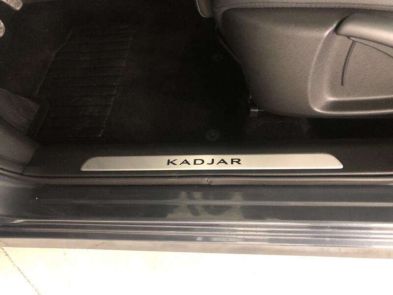 Inside Kadjar  Gris Titanium
