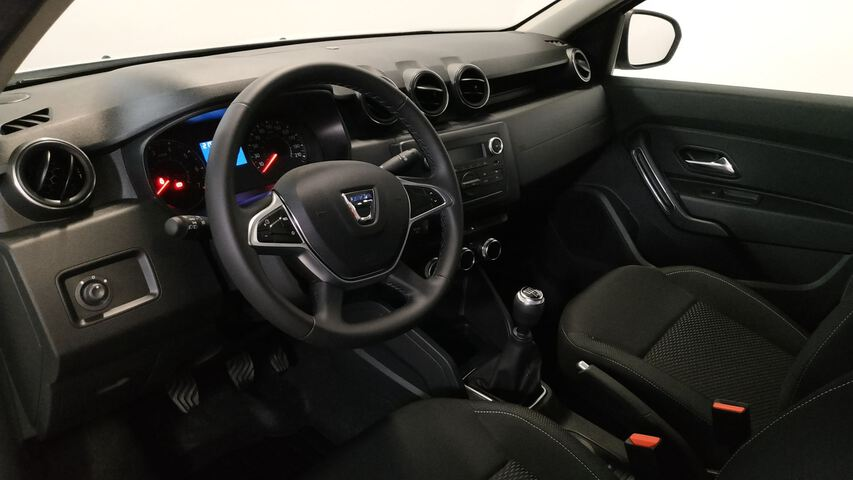 Inside Duster Diesel  Blanco