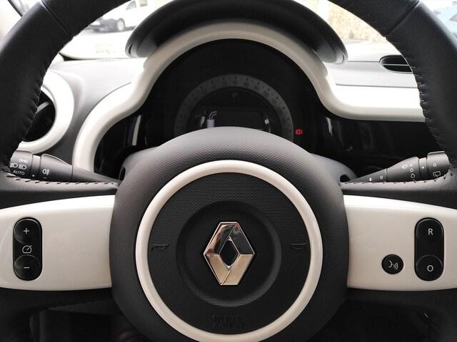 Inside Twingo Electric  Blanco Cristal