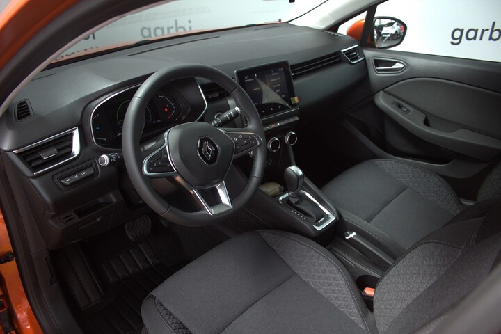 Inside Clio Híbrido  Naranja Valencia