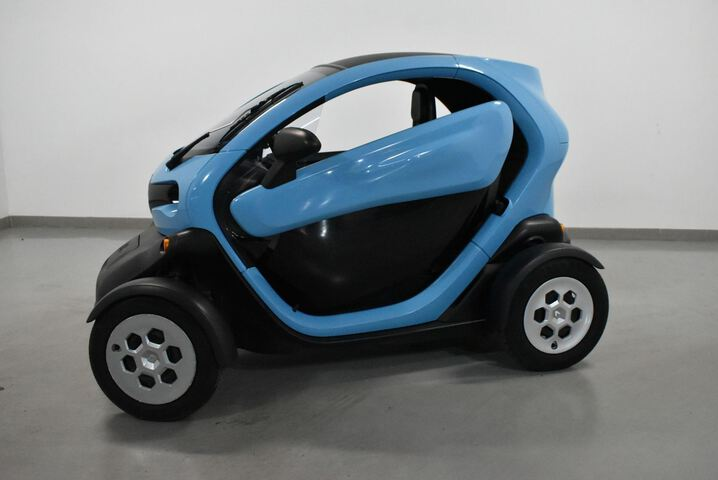 Outside Twizy  Azul