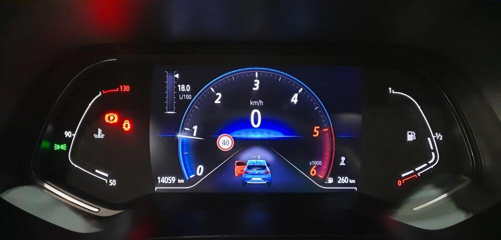 Outside Clio Diesel  Azul Celadon