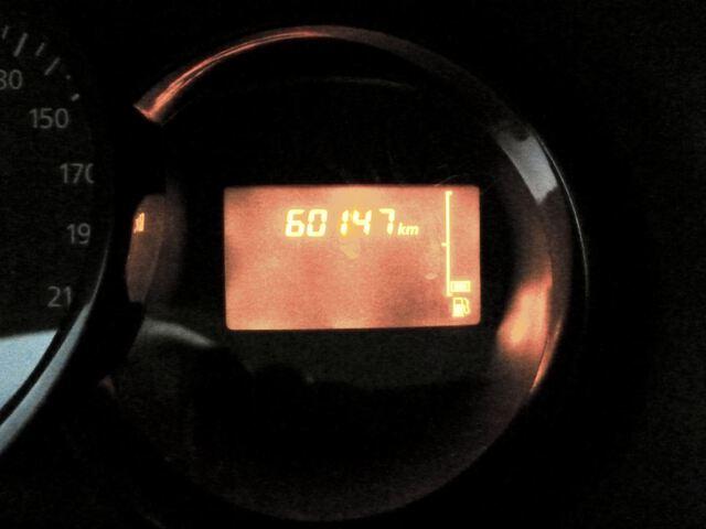 Inside Dokker Combi Diesel  Blanco