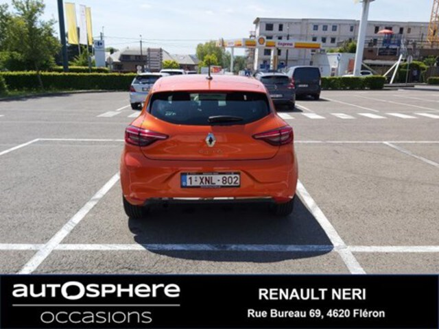 Extérieur Clio  orange