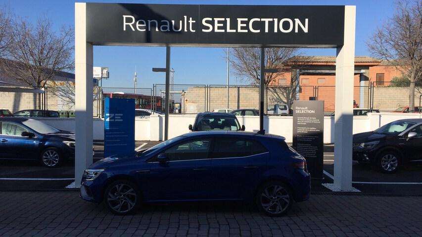 Outside Mégane Diesel  Azul Rayo