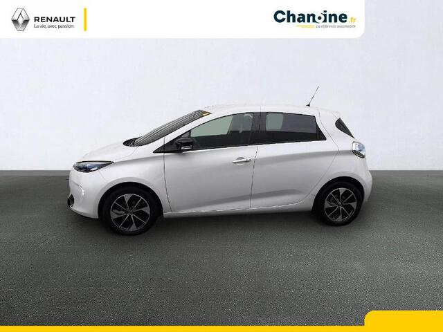 ZOE Intens Charge Rapide Gamme 2017 BLANC NACRE