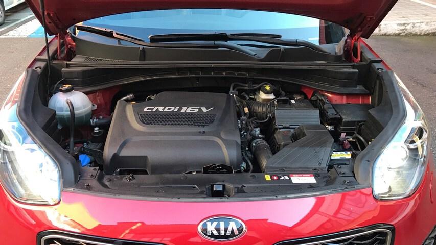 Inside Sportage Diesel  Infra Red