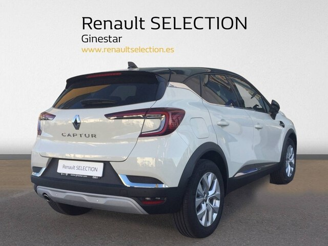 Outside Captur Diesel  BLANCO ALBATROS TECH